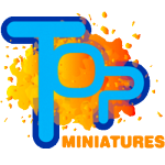 top miniatures commission painting service logo