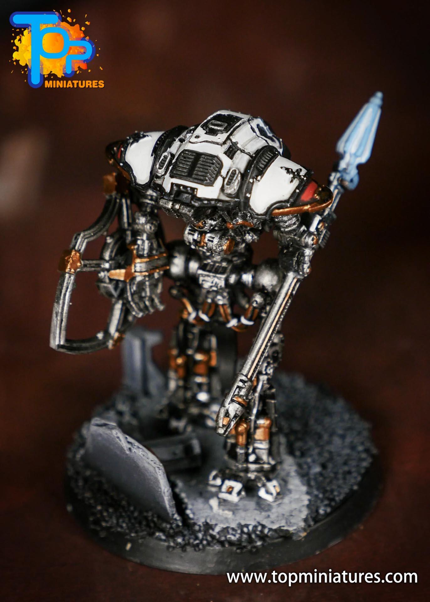Adeptus Titanicus Grandmaster cerastus knights (1)
