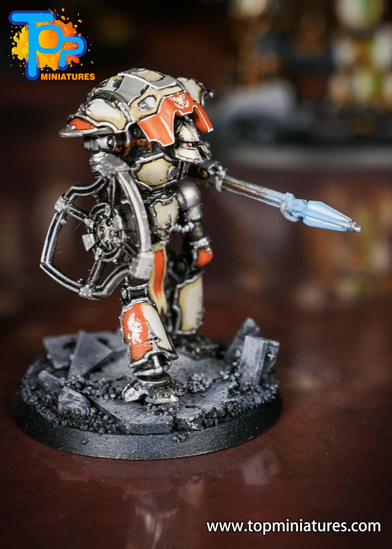 Adeptus Titanicus Grandmaster cerastus knights (3)