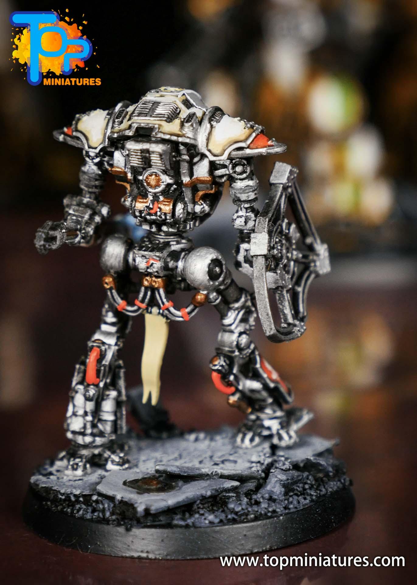 Adeptus Titanicus Grandmaster cerastus knights (4)