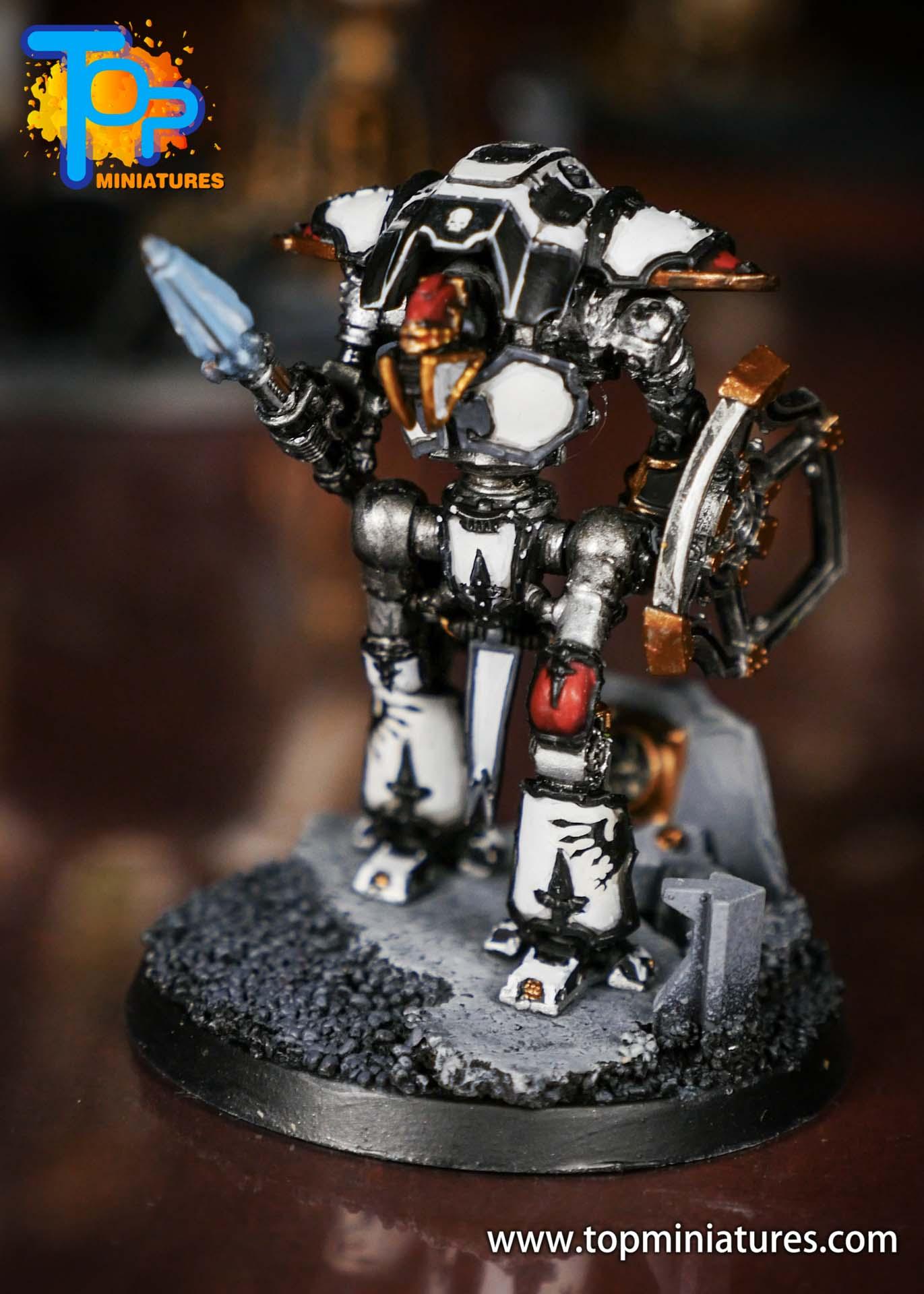 Adeptus Titanicus Grandmaster cerastus knights (5)