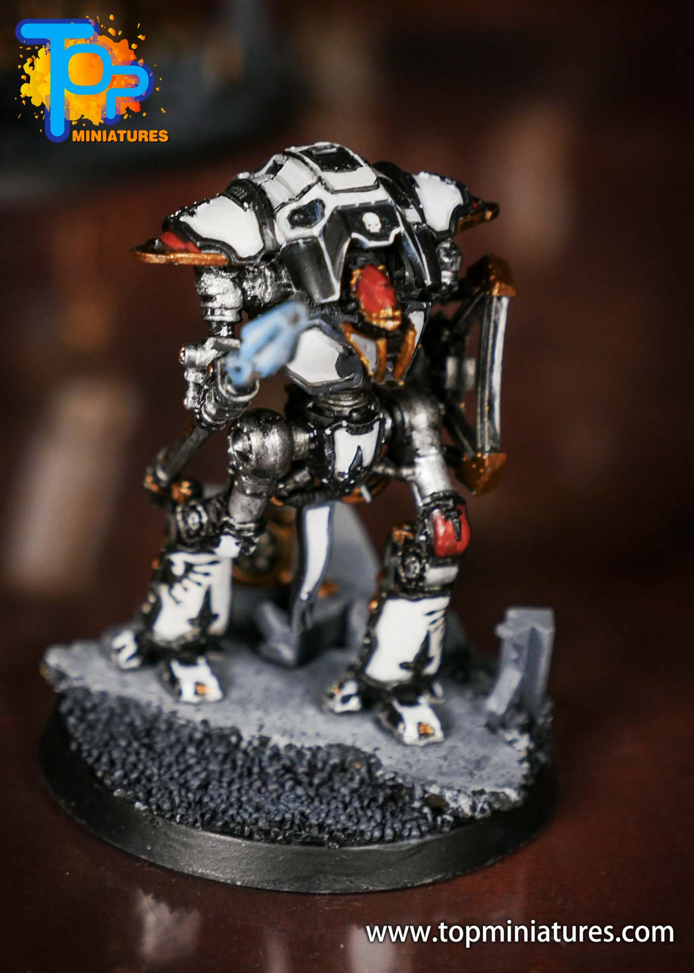 Adeptus Titanicus Grandmaster cerastus knights (6)