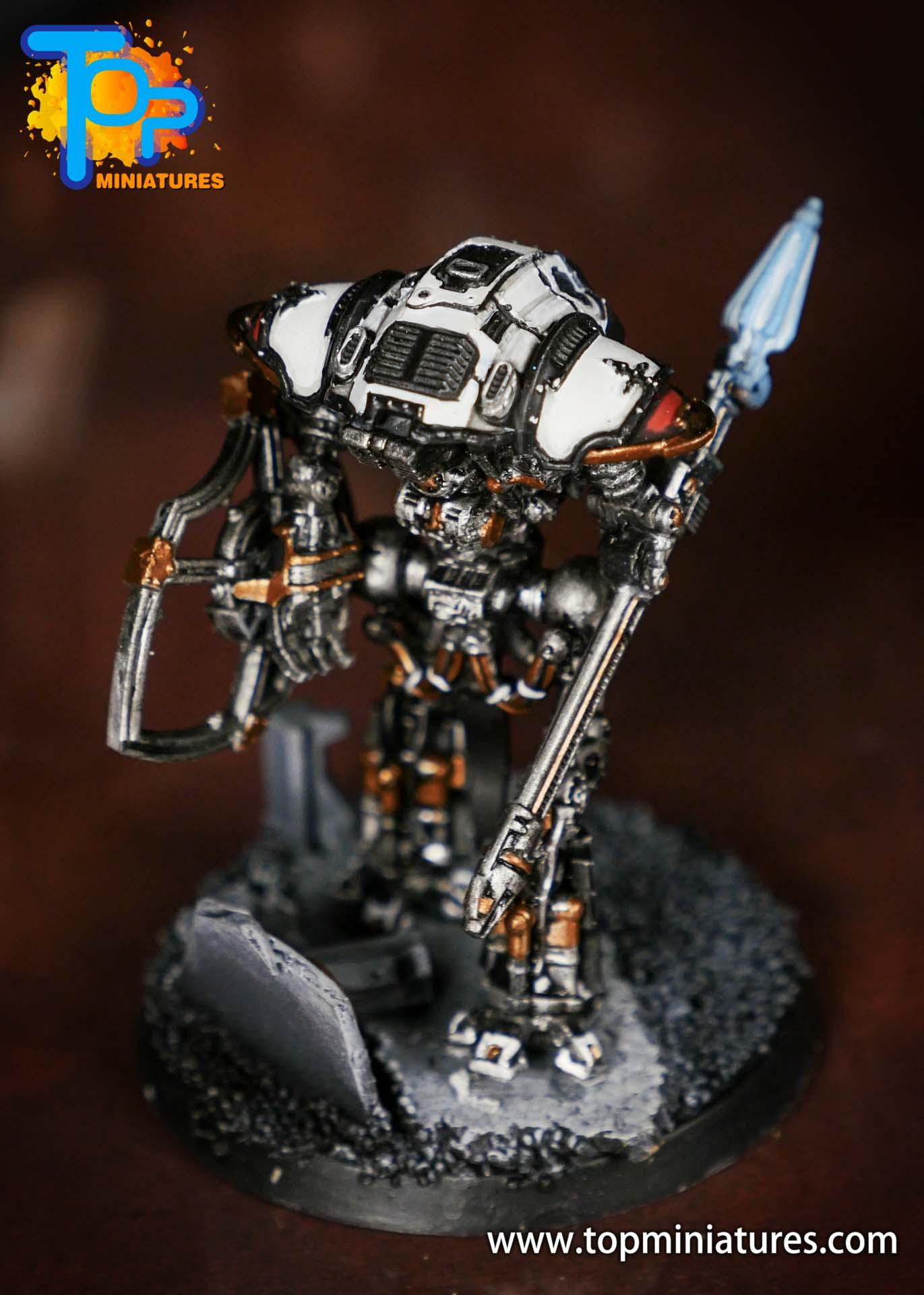 Adeptus Titanicus Grandmaster cerastus knights (7)