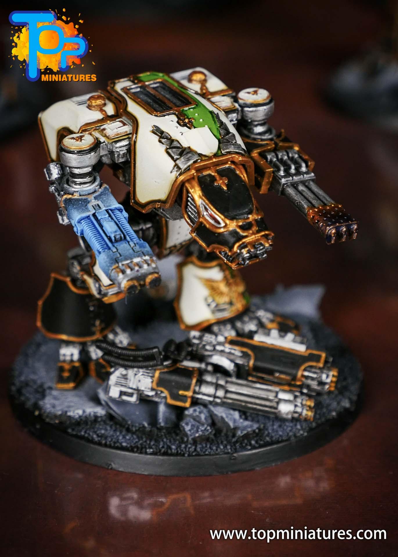 Adeptus Titanicus grand master warhound (5)