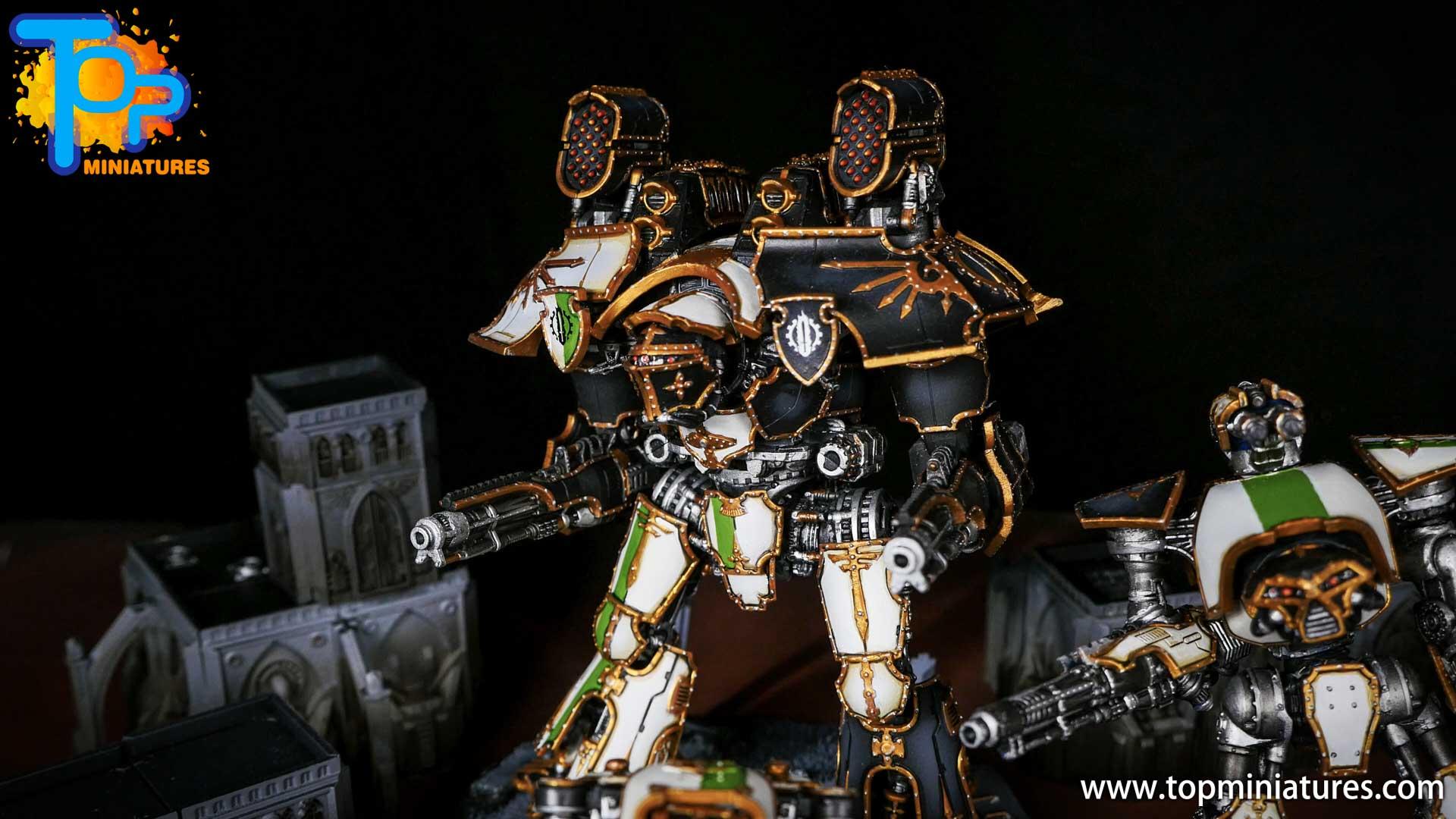Adeptus Titanicus grand master warlord (1)