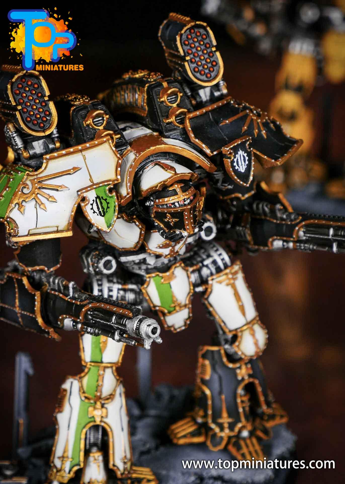 Adeptus Titanicus grandmaster legio defensor warlord (6)