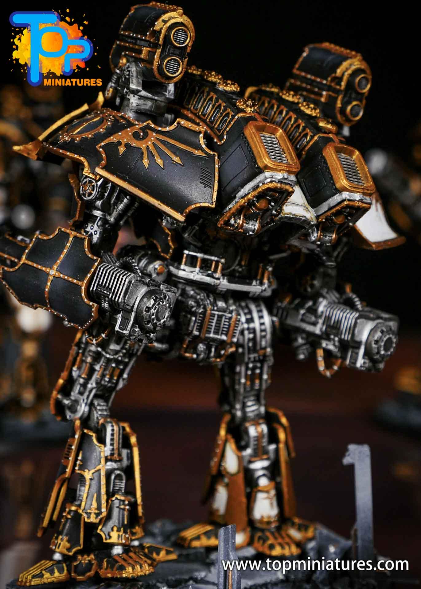 Adeptus Titanicus grandmaster legio defensor warlord (7)