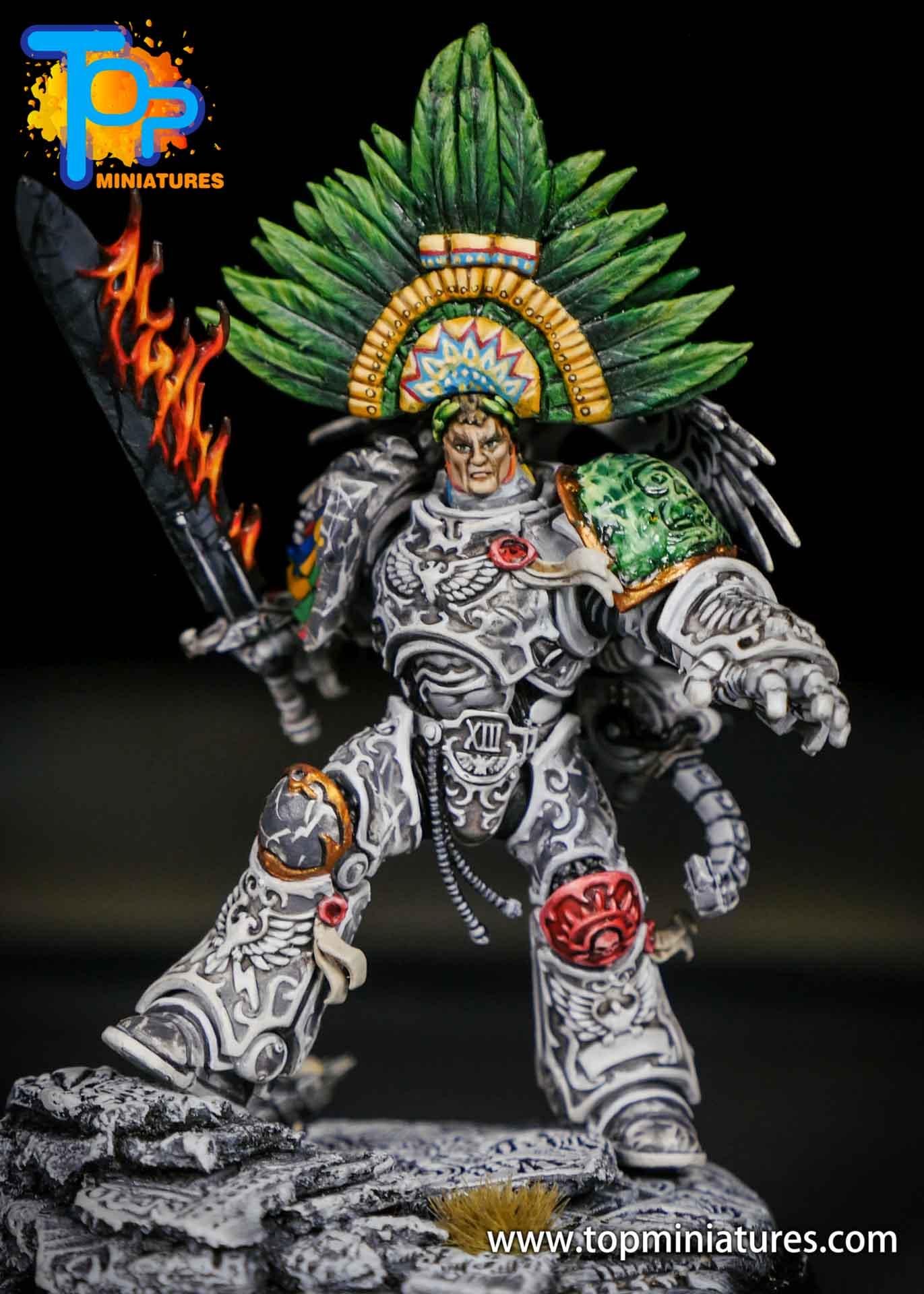 Aztec Roboute Guilliman stone conversion (1)
