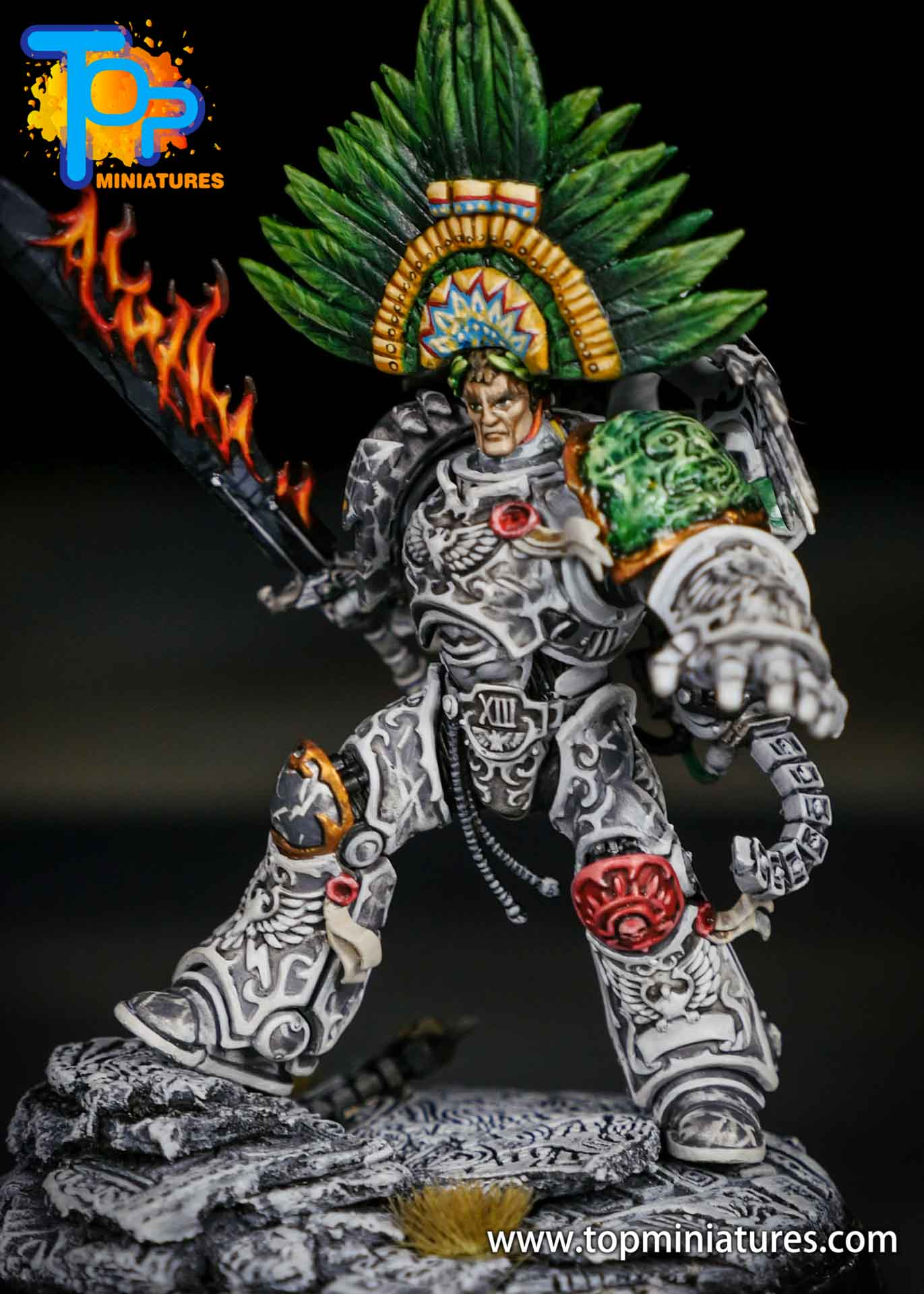 Aztec Roboute Guilliman stone conversion (6)