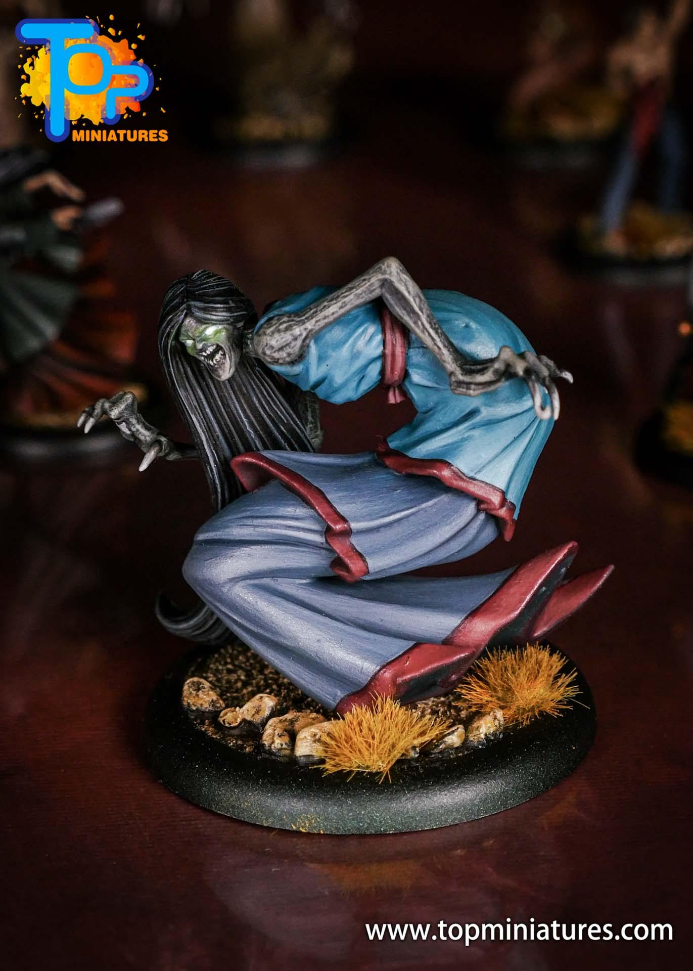Malifaux the Resurrectionists painted Ikiryo (2)