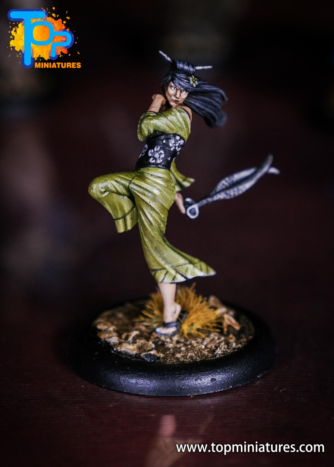Malifaux the Resurrectionists painted Kirai (2)