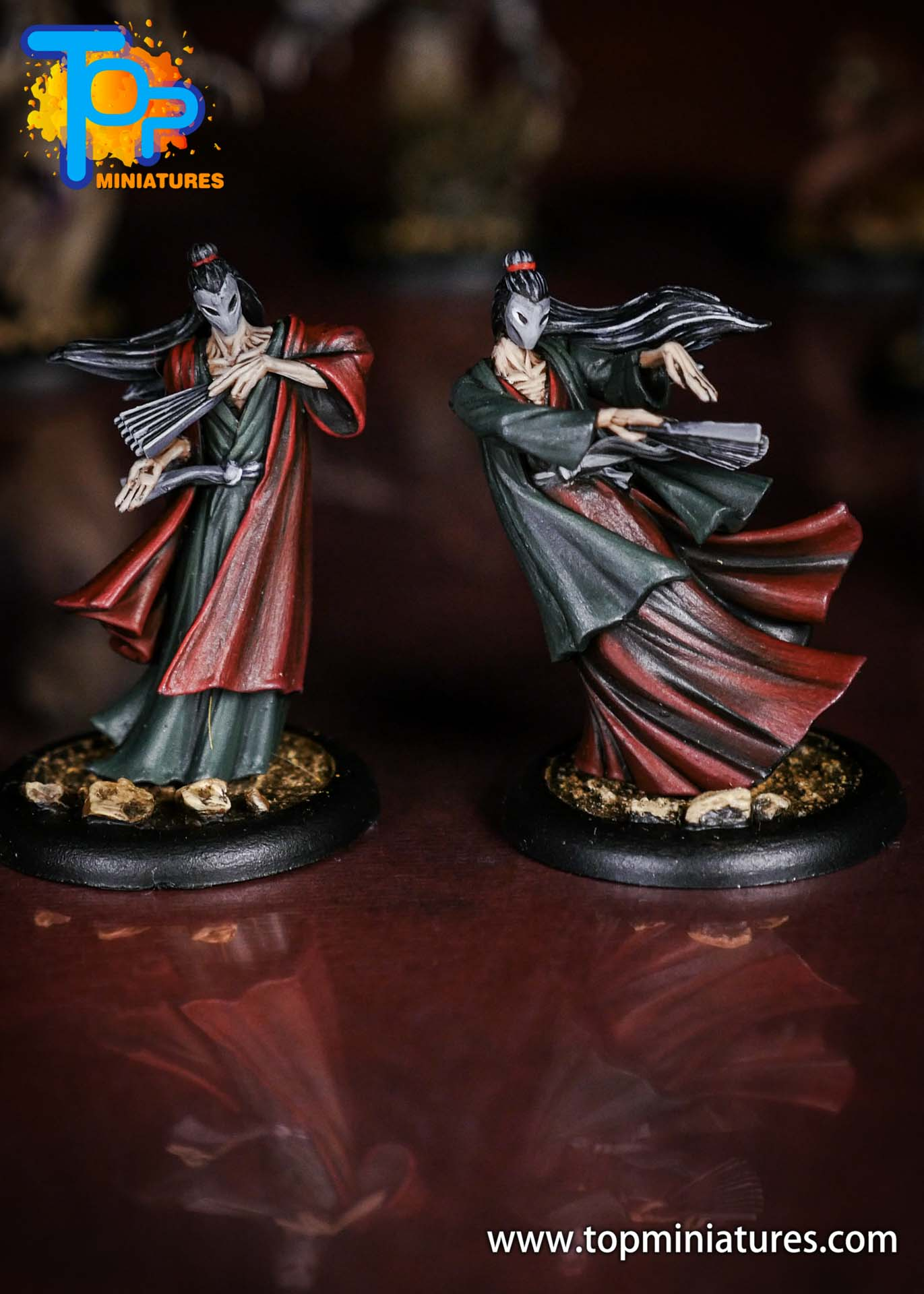 Malifaux the Resurrectionists painted Onryo (1)