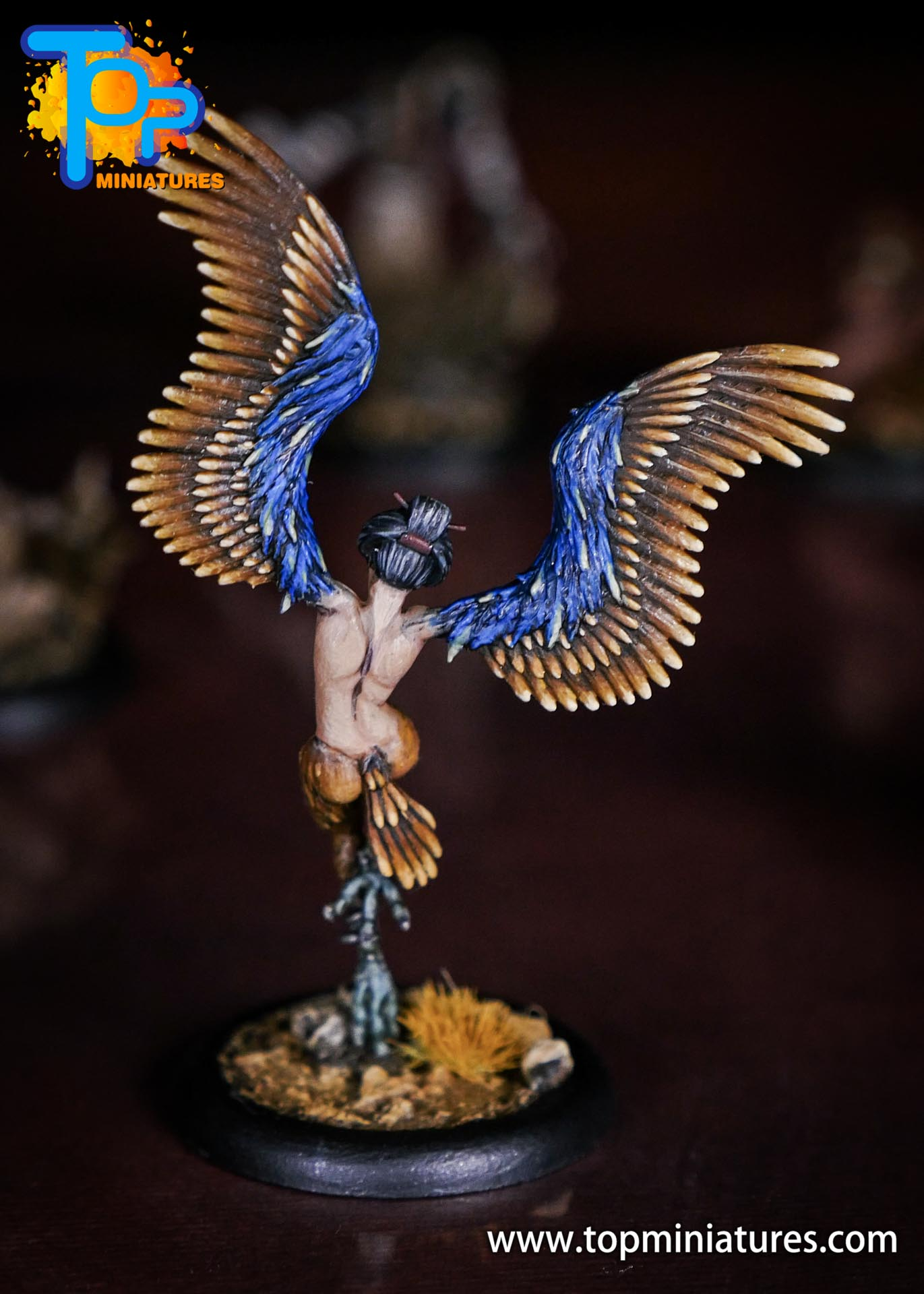 Malifaux the Resurrectionists painted Shikome (4)