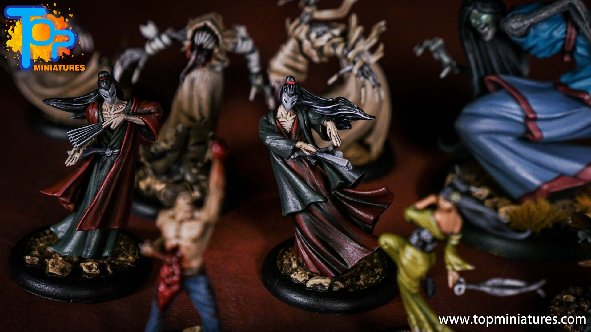Malifaux the Resurrectionists painted crew (1)