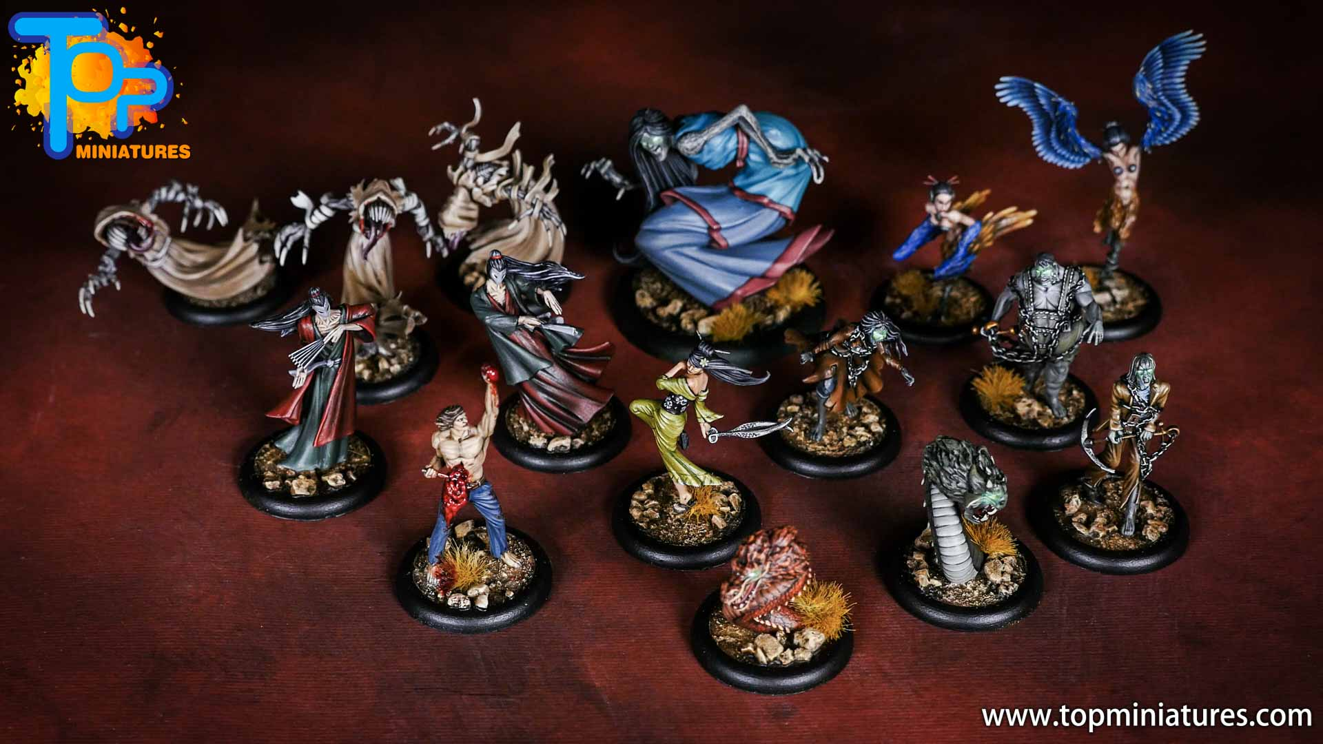 Malifaux the Resurrectionists painted crew (2)