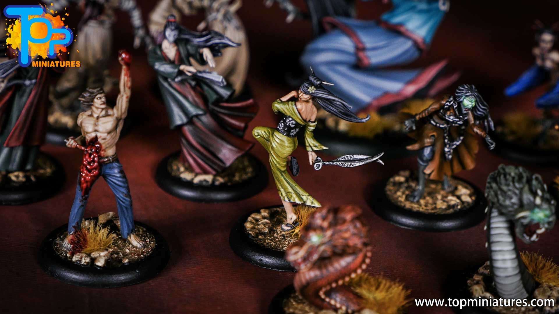 Malifaux the Resurrectionists painted crew (3)