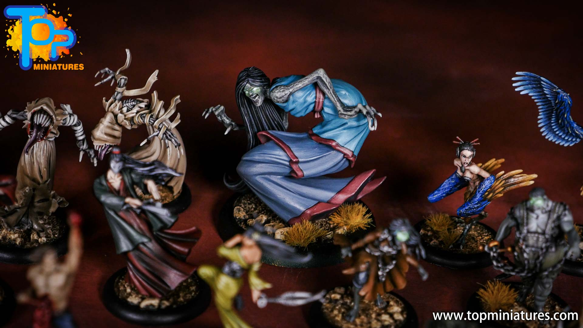 Malifaux the Resurrectionists painted crew (6)