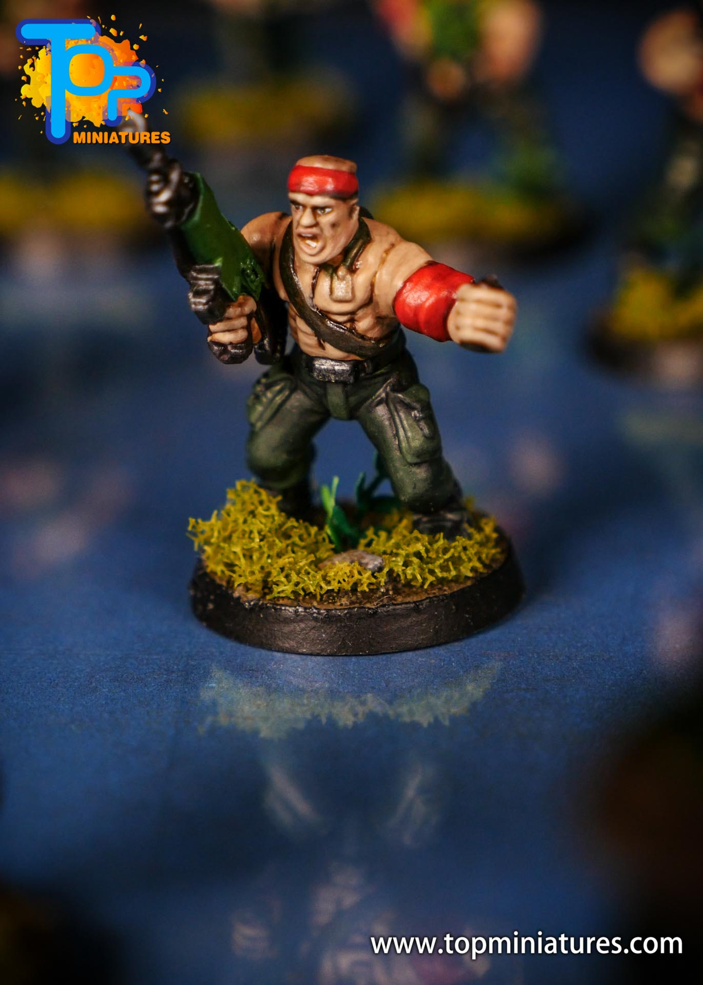 Painted catachan jungle fighters (10)