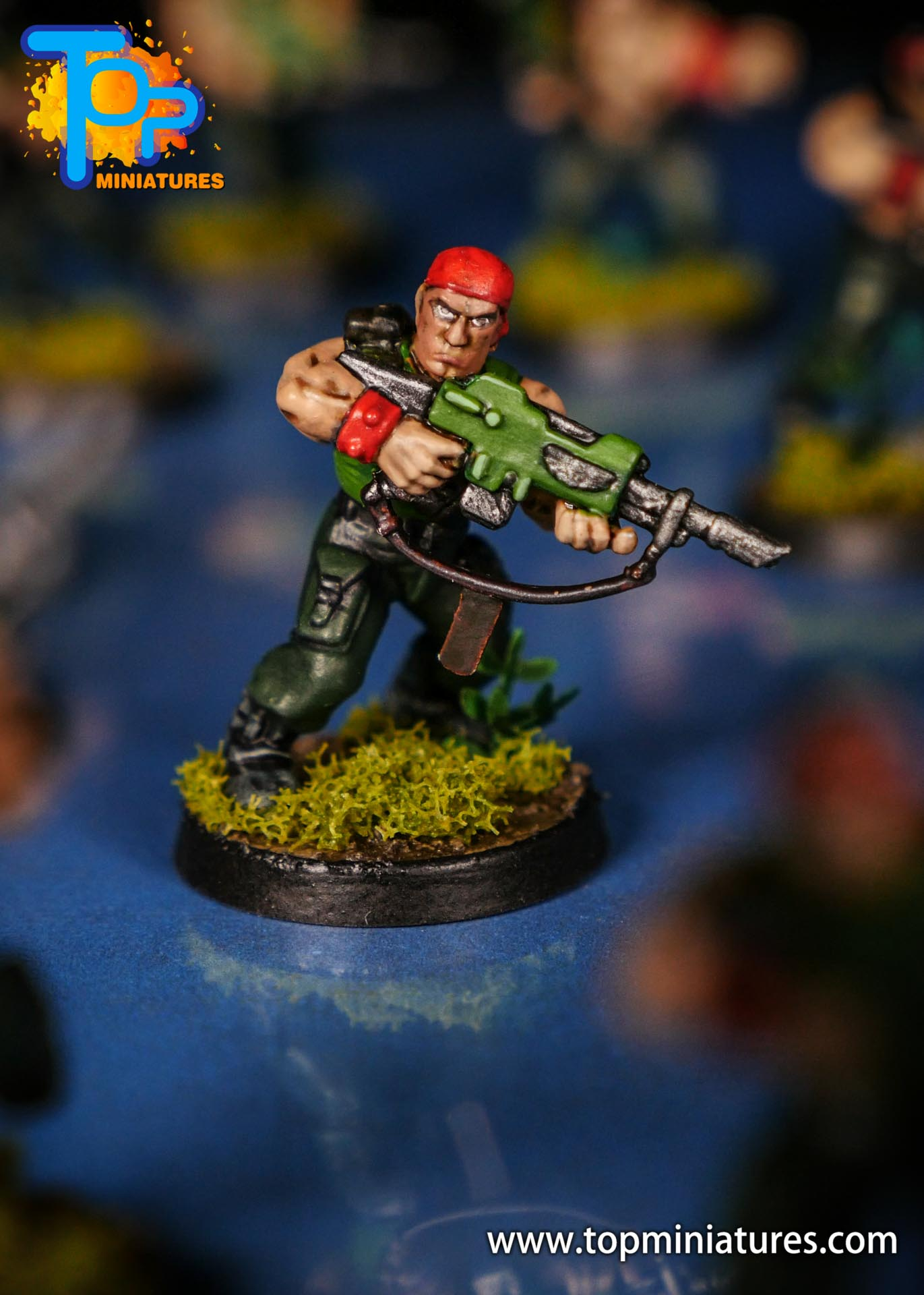 Painted catachan jungle fighters (11)