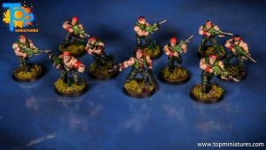Painted catachan jungle fighters (2)