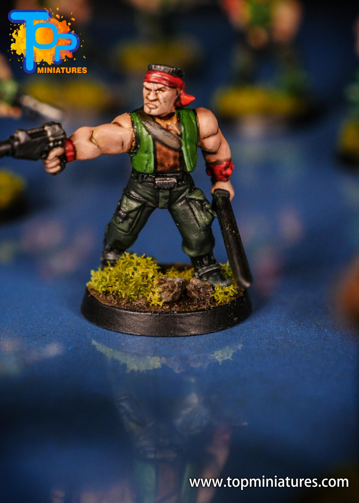 Painted catachan jungle fighters (3)