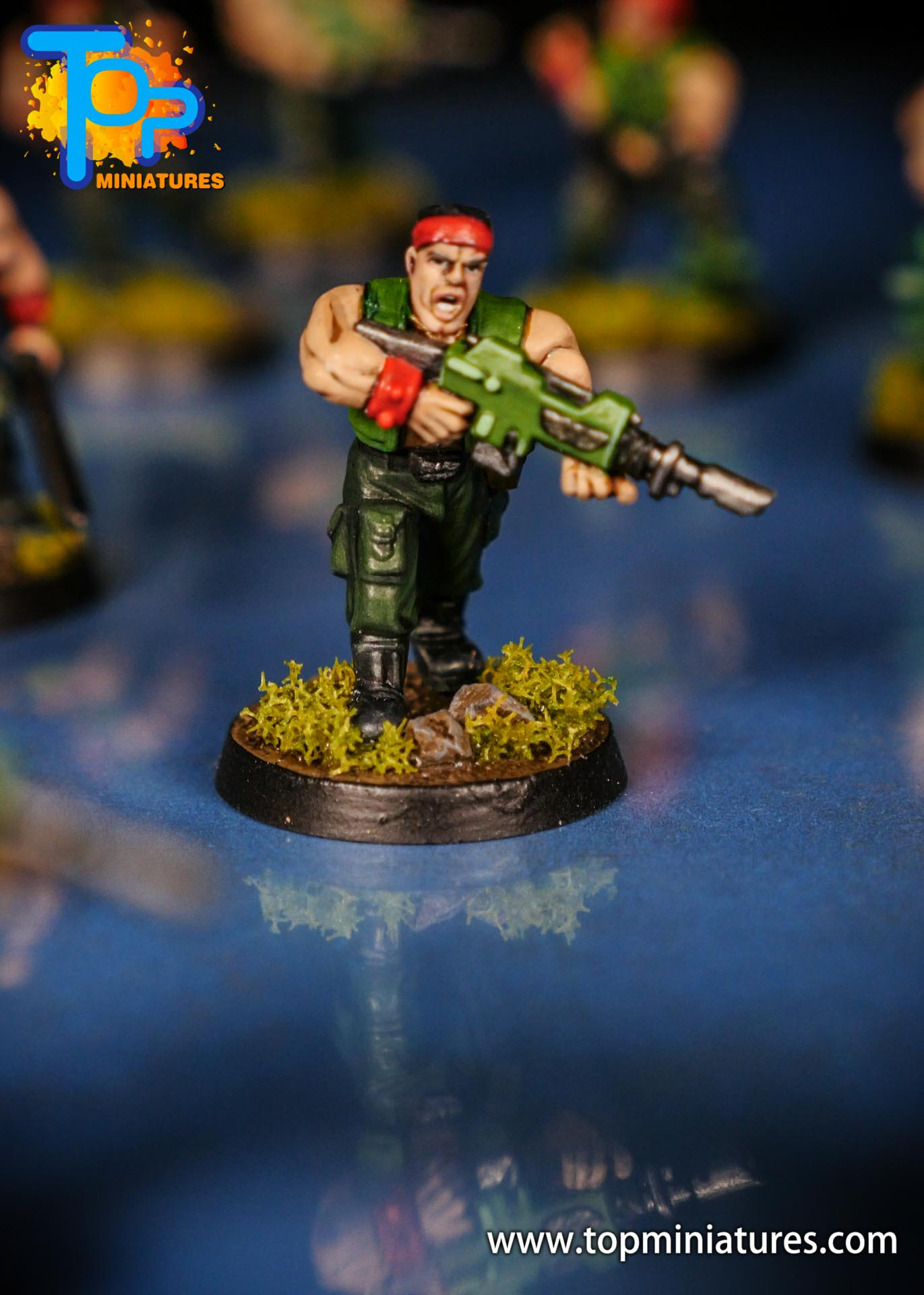 Painted catachan jungle fighters (5)