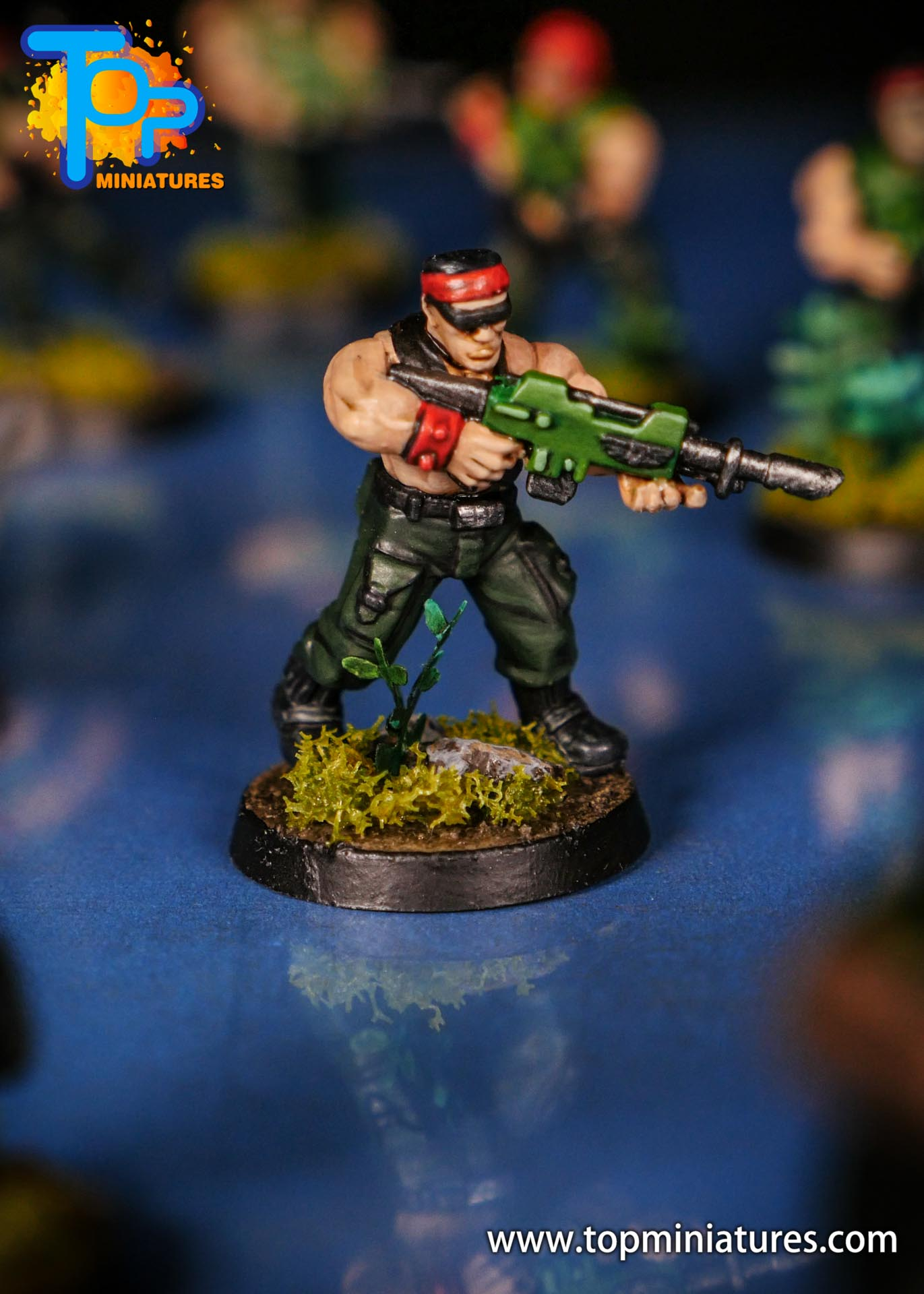 Painted catachan jungle fighters (8)