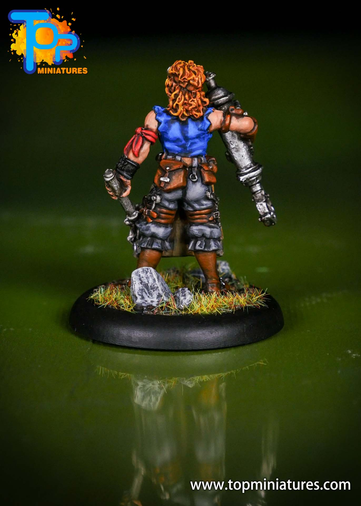 Warmachine Mercenaries Dirty Meg (1)