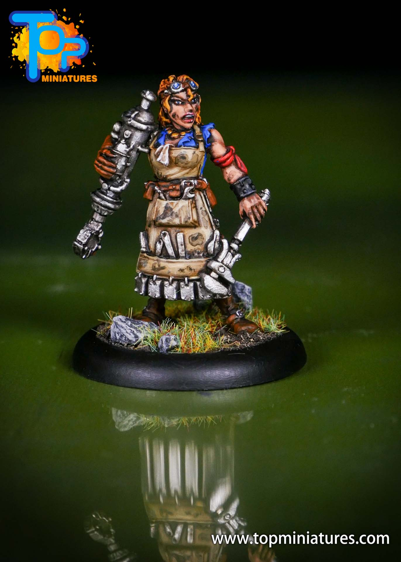Warmachine Mercenaries Dirty Meg (2)