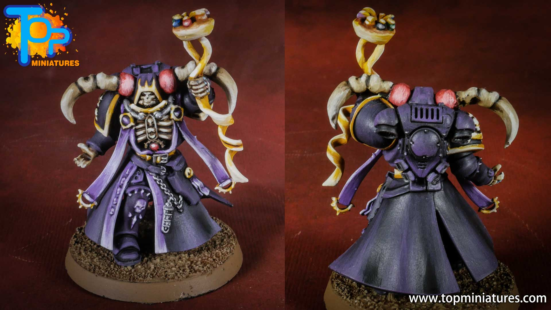 Ainz Ooal Gown overlord primaris chaplain conversion (1)