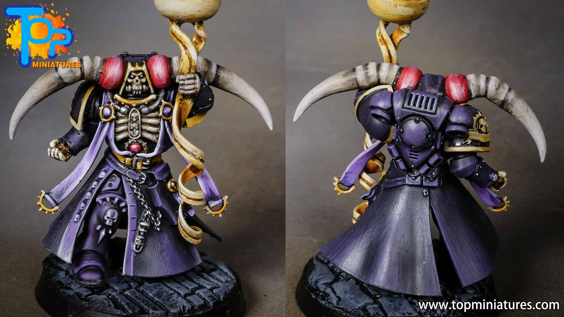 Ainz Ooal Gown overlord primaris chaplain conversion (2)