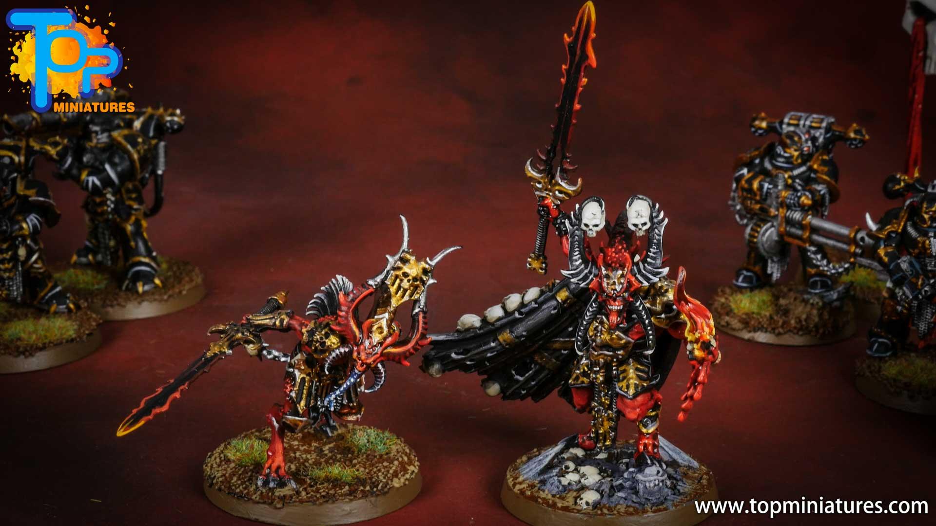Black legion bloodmaster herald of khorne