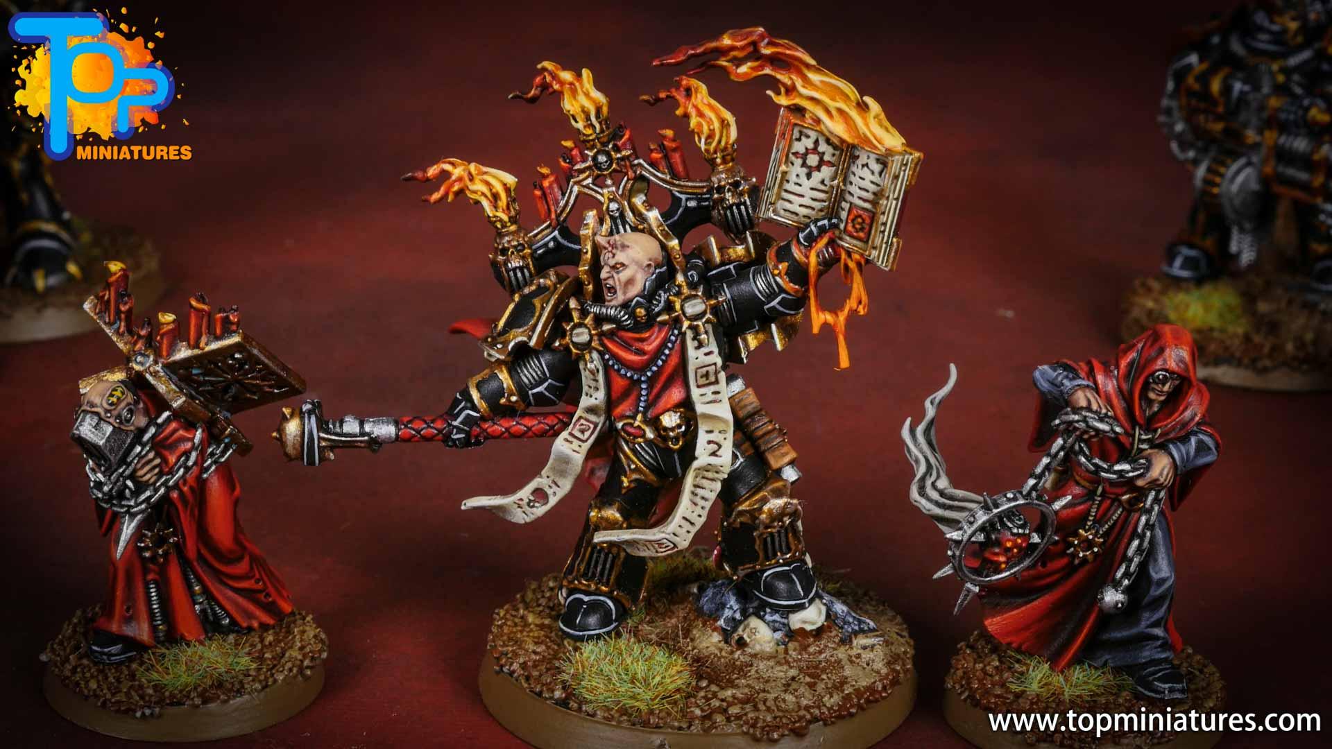 Black legion dark apostle & acolytes (2)