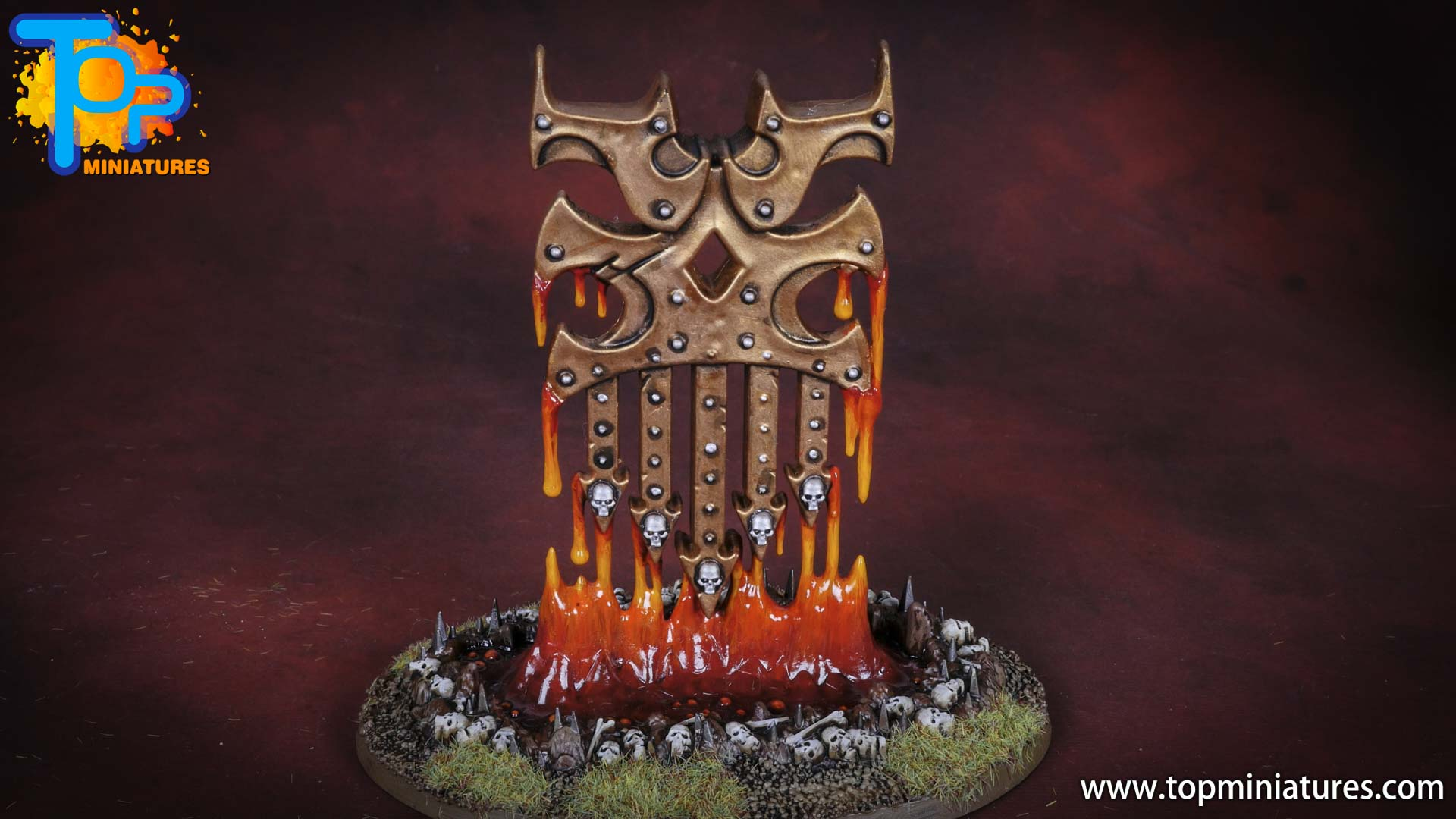 Black legion painted bleeding icon (2)