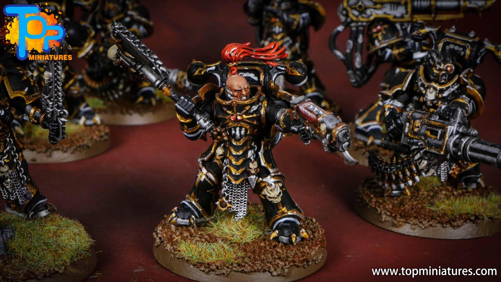 Black legion painted chaos havocs (2)