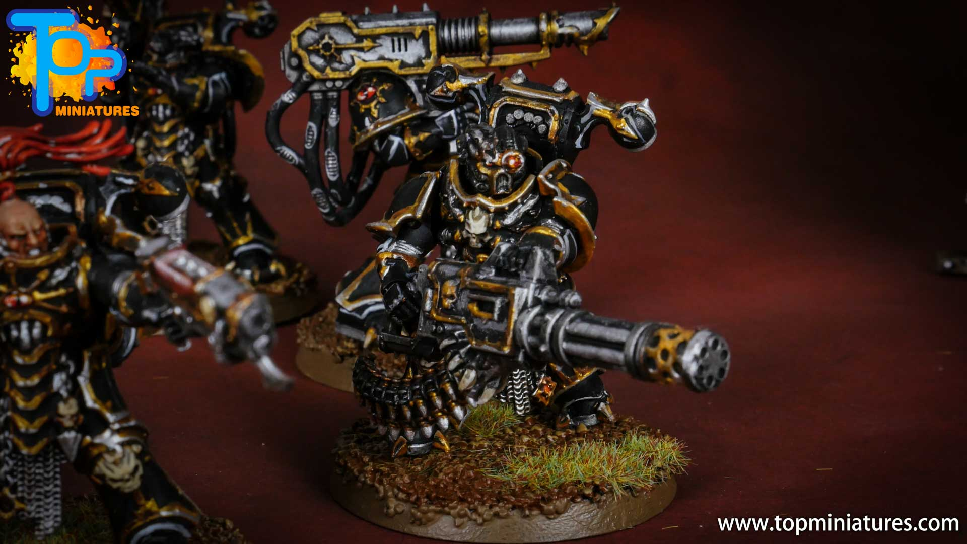 Black legion painted chaos havocs (3)
