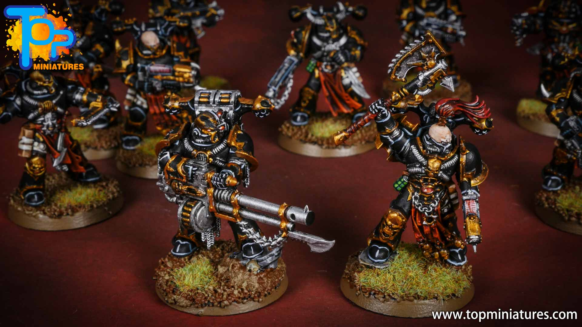 Black legion painted chaos havocs (4)