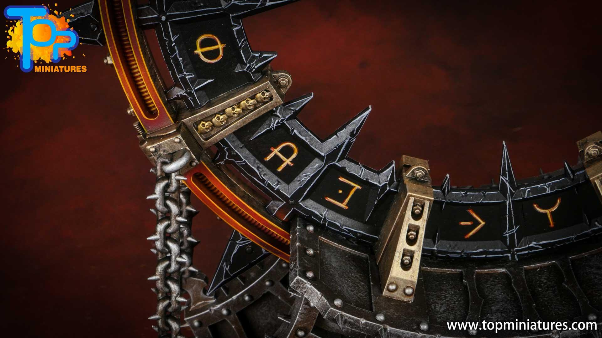 Black legion painted noctilith crown (4)