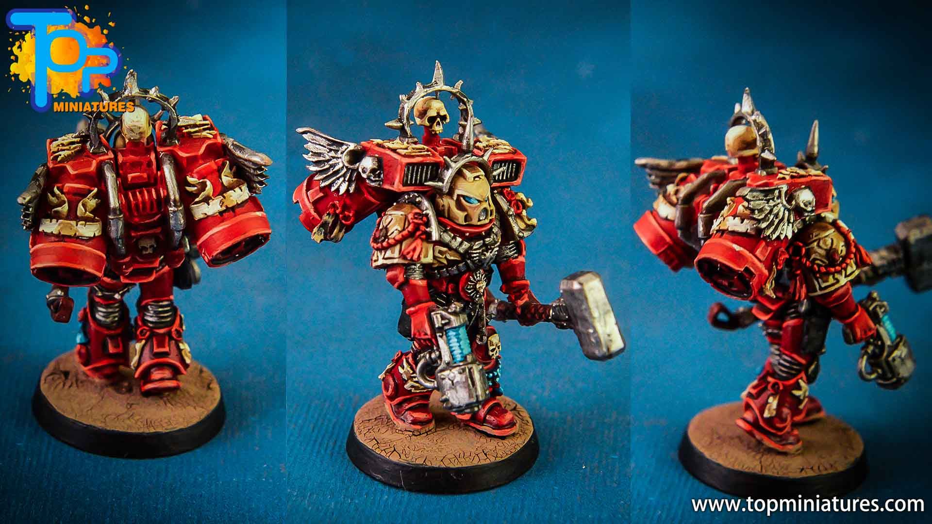 Blood Raven captain - Top Miniatures (4)