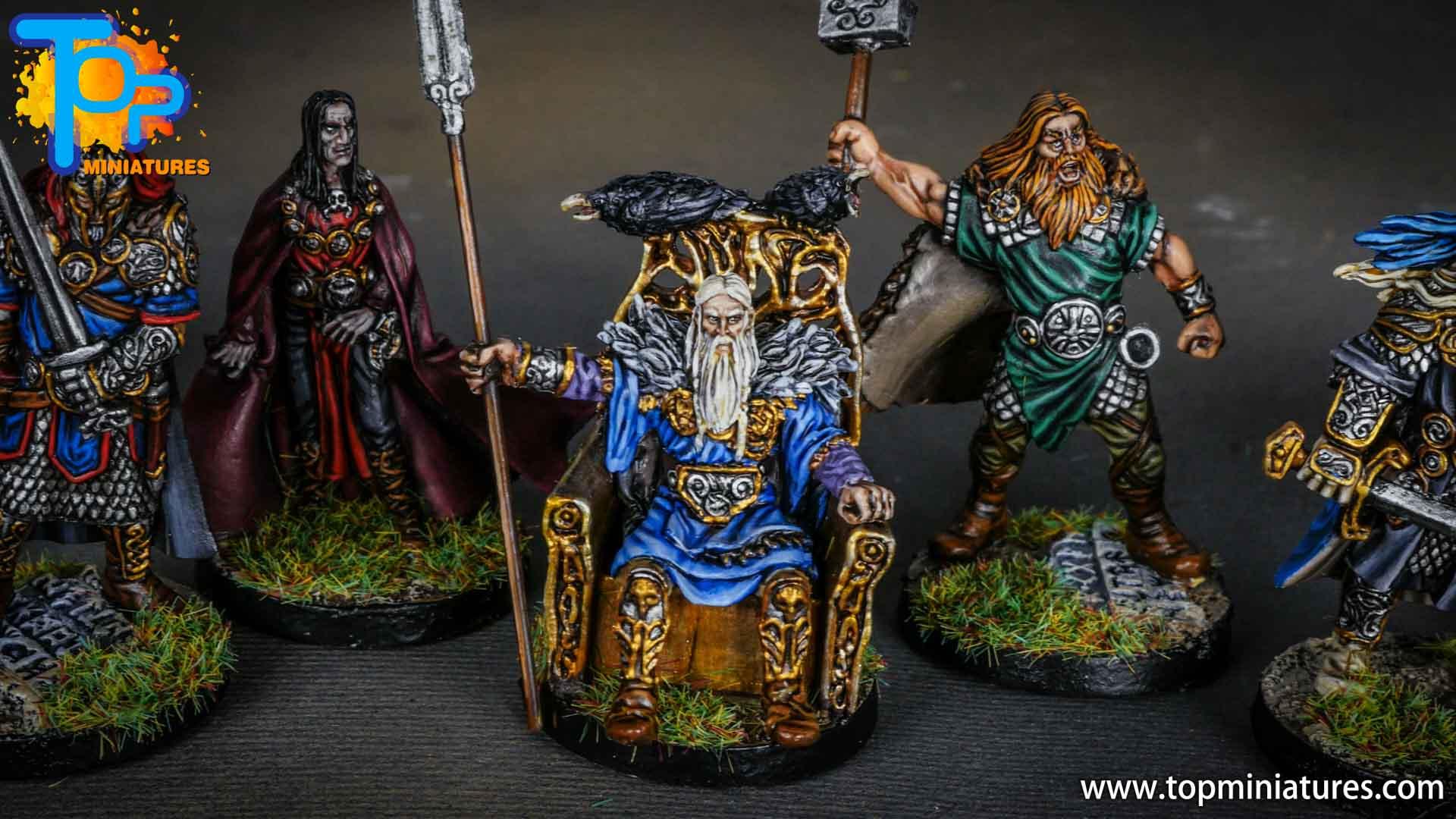 Blood rage gods of asgard odin