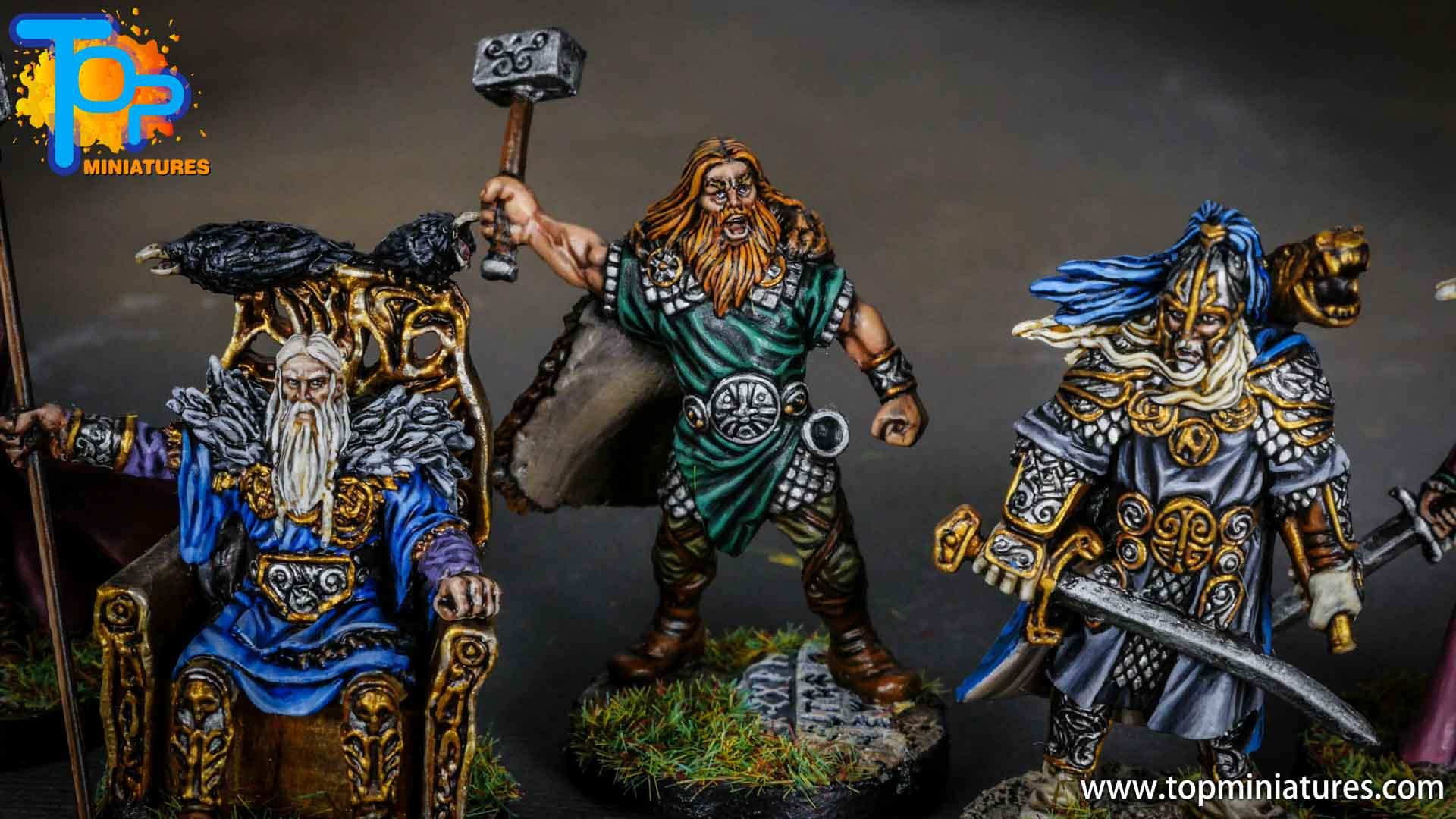 Blood rage gods of asgard thor (2)