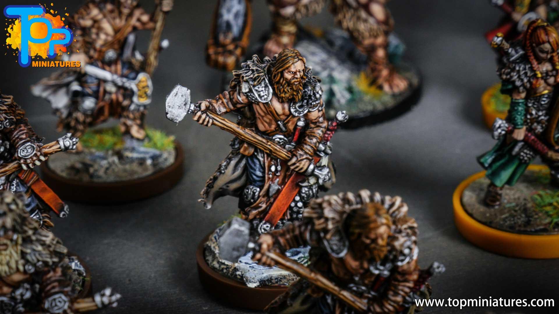 Blood rage painted bear clan (8)