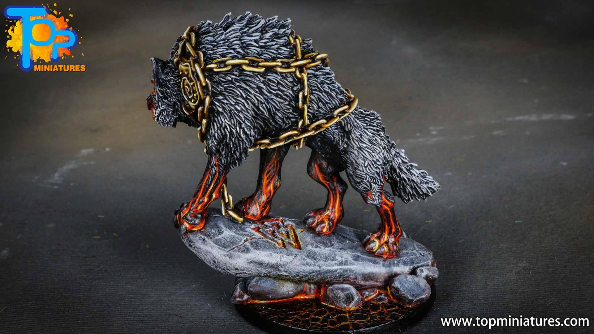 Blood rage painted fenrir monster (6)