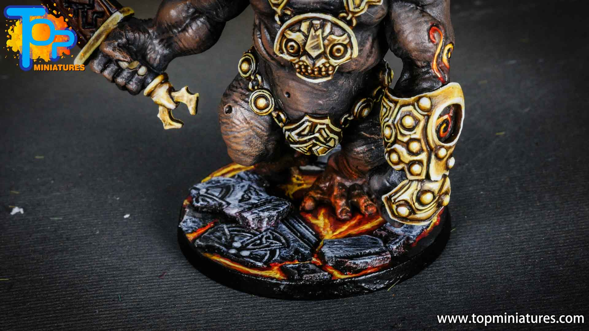 Blood rage painted fire giant (3)
