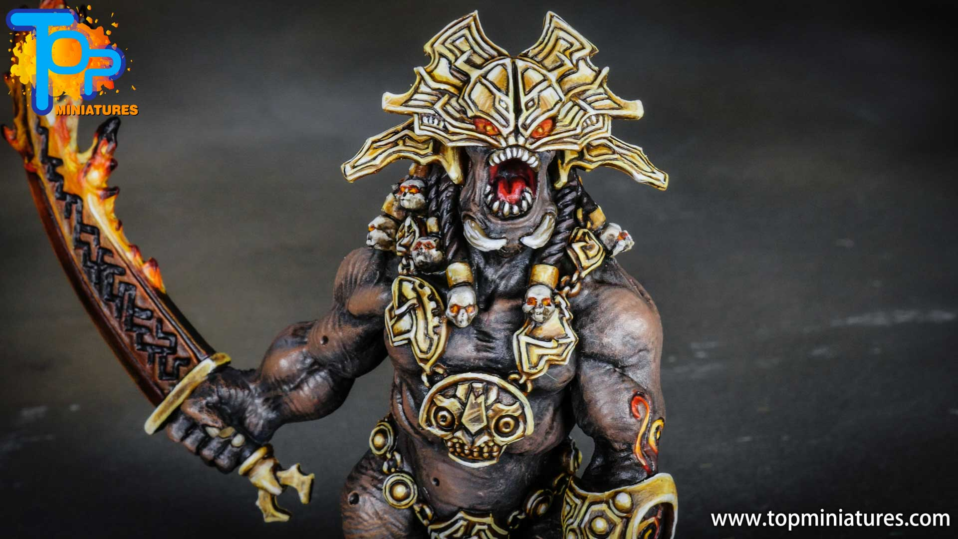 Blood rage painted fire giant (4)