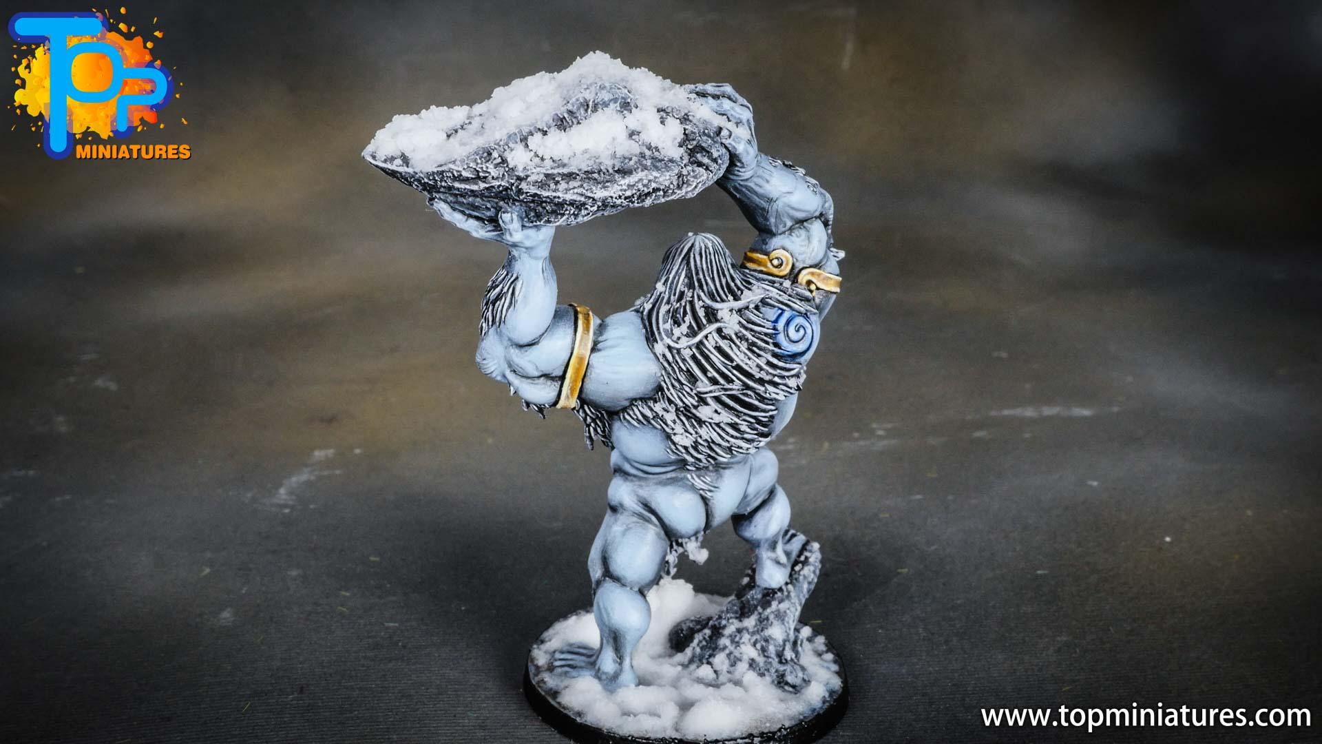 Blood rage painted frost giant (6)