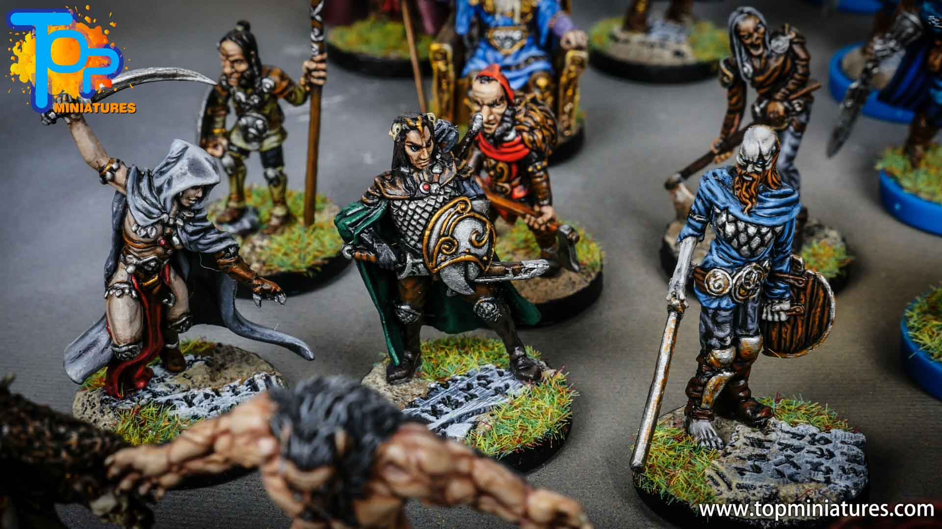 Blood rage painted gods of asgard (2)