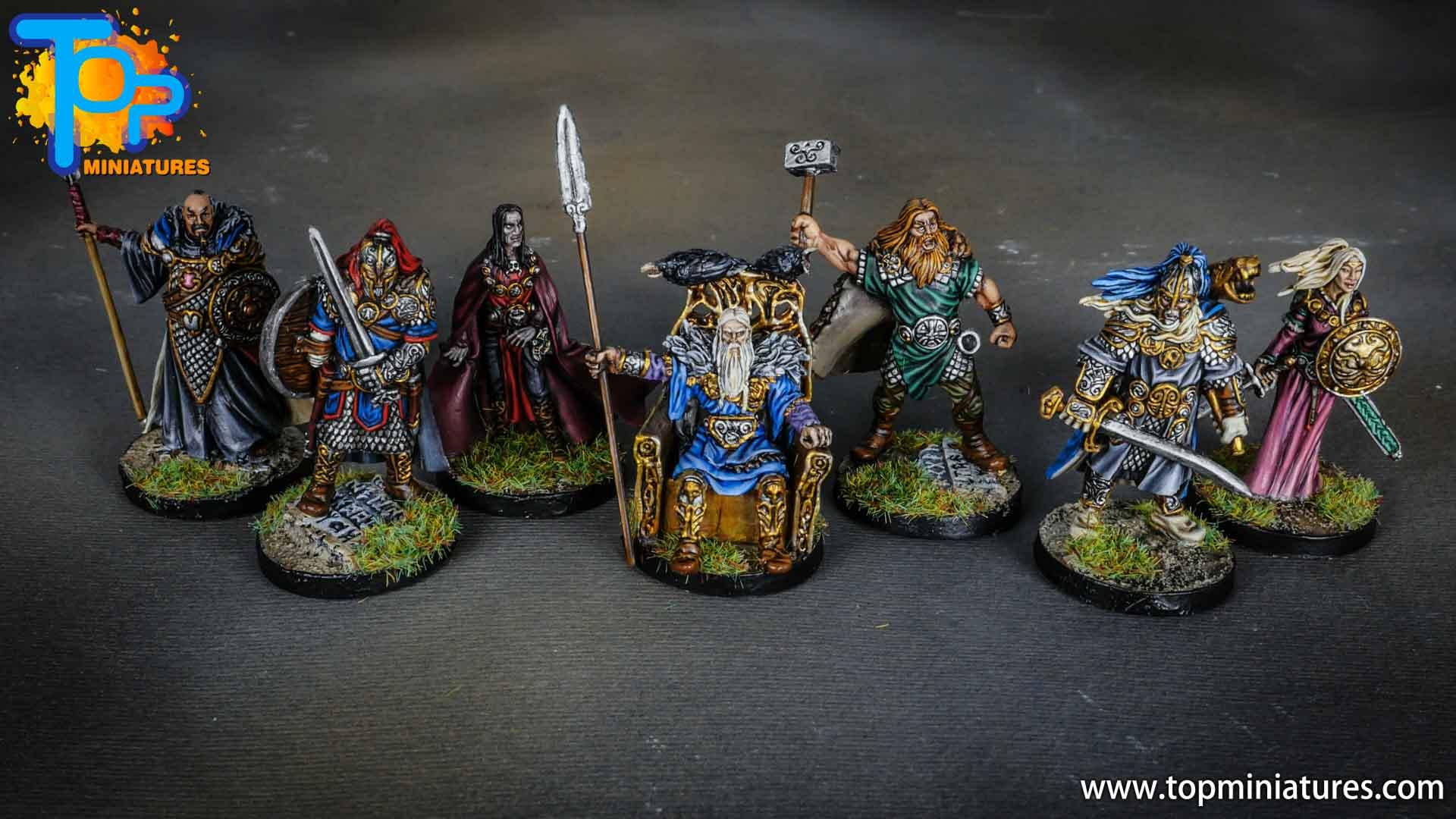 Blood rage painted gods of asgard