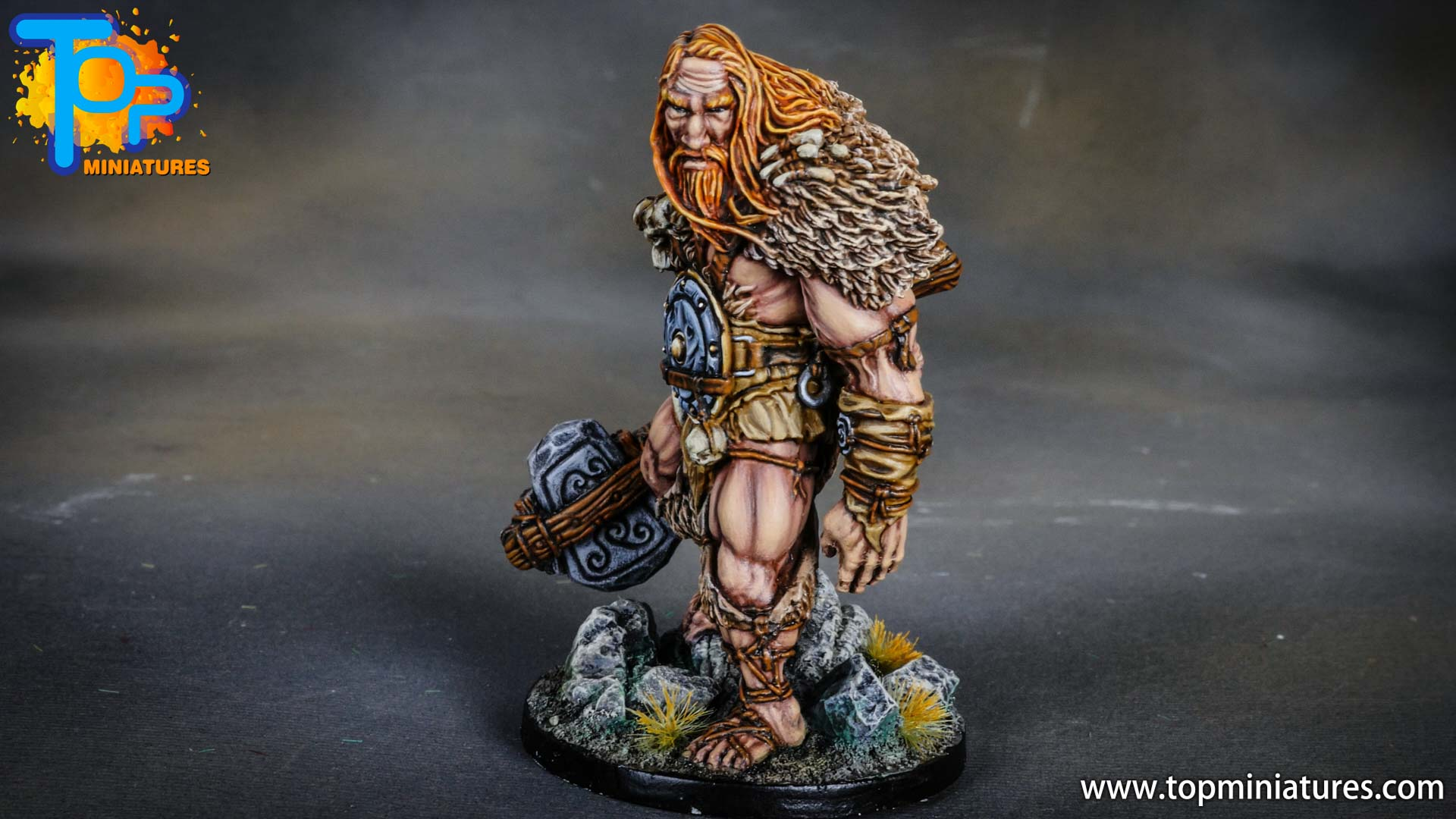Blood rage painted mountain giant (6)