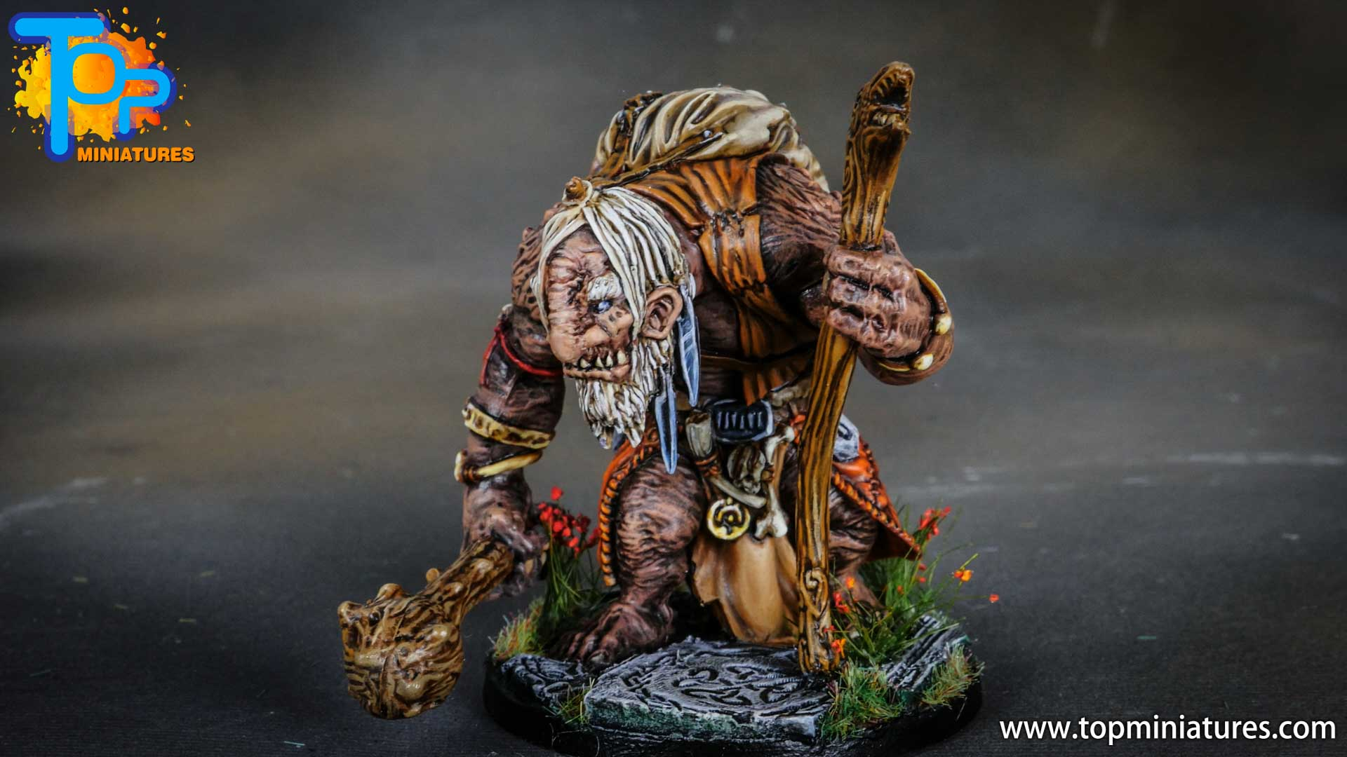 Blood rage painted mystic troll (11)